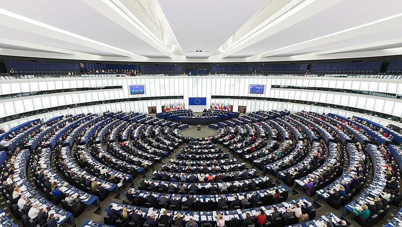 800px European Parliament Strasbourg Hemicycle Diliff