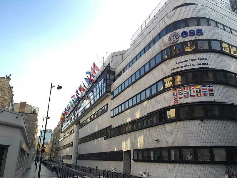 ESA Headquarters in Paris France