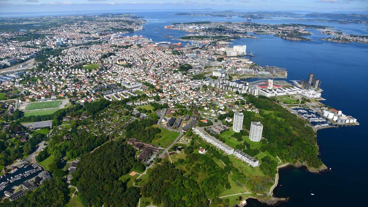 Flyfoto Stavanger