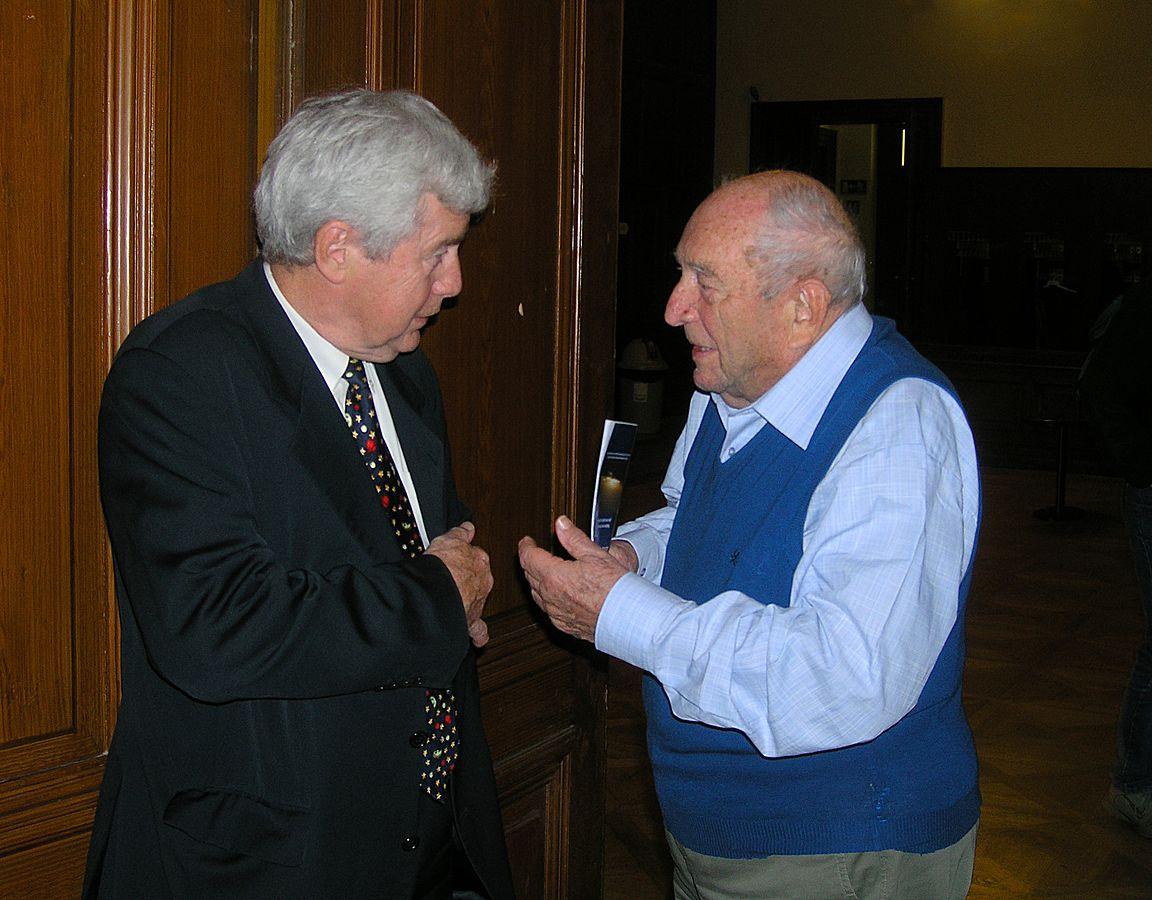 Jiří Grygar and Luboš Perek