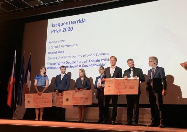 Laureáti Jacques Derrida Prize