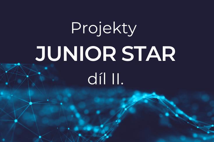 Projekty JUNIOR STAR dil II. grafika