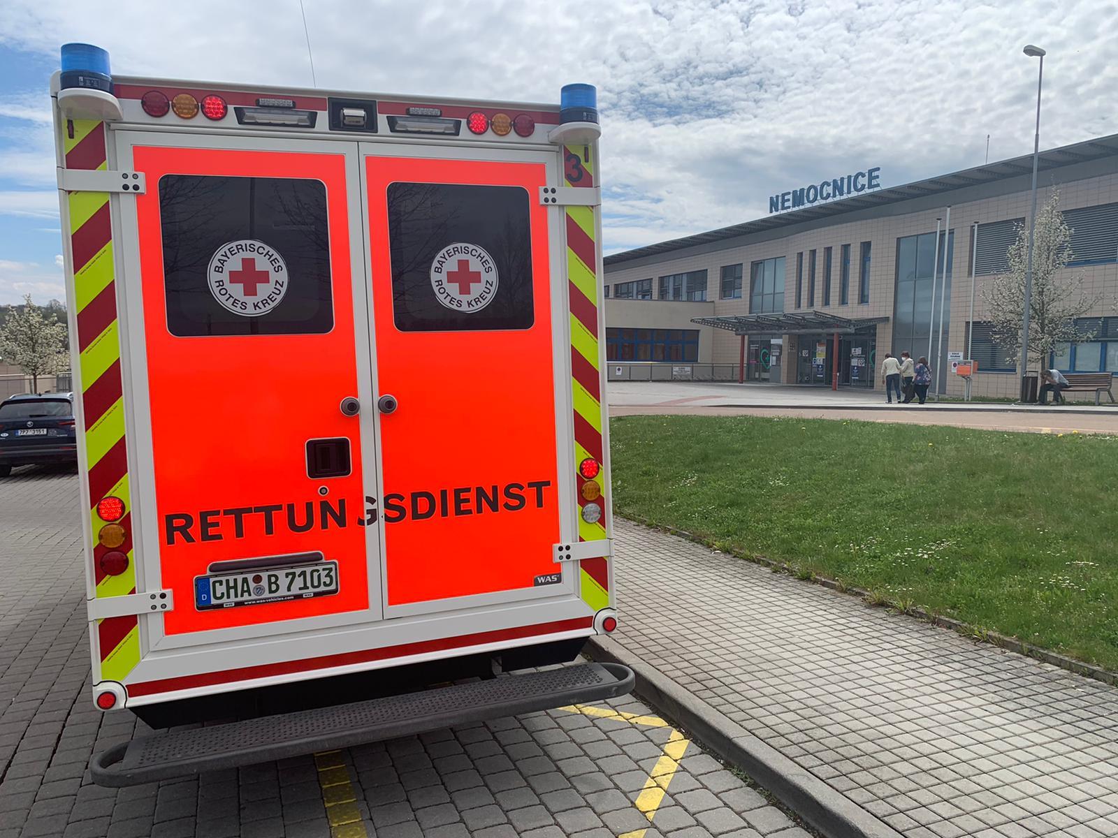 Sanitka Bavorského červeného kříže