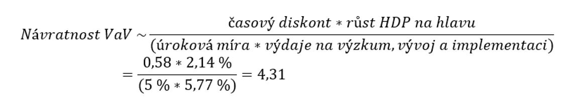 Vzorec II
