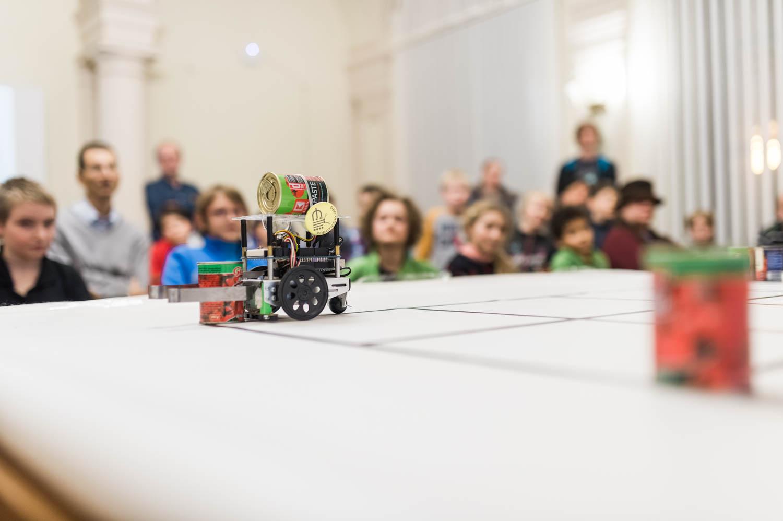 Workshop TVT Robotika autor fotografie Pavlína Jáchimová