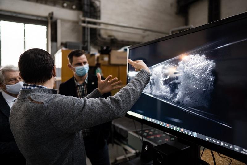 Záběry z rychlokamery ukazují fyzikální jev zvaný kavitace foto Jan Prokjpg