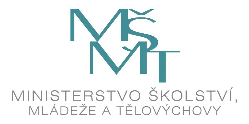 MSMT logotyp text RGB cz