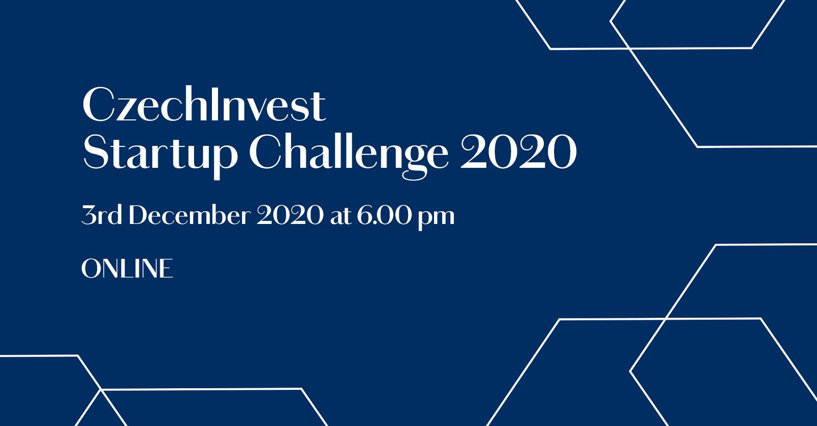 CzechInvest Startup Challenge 1