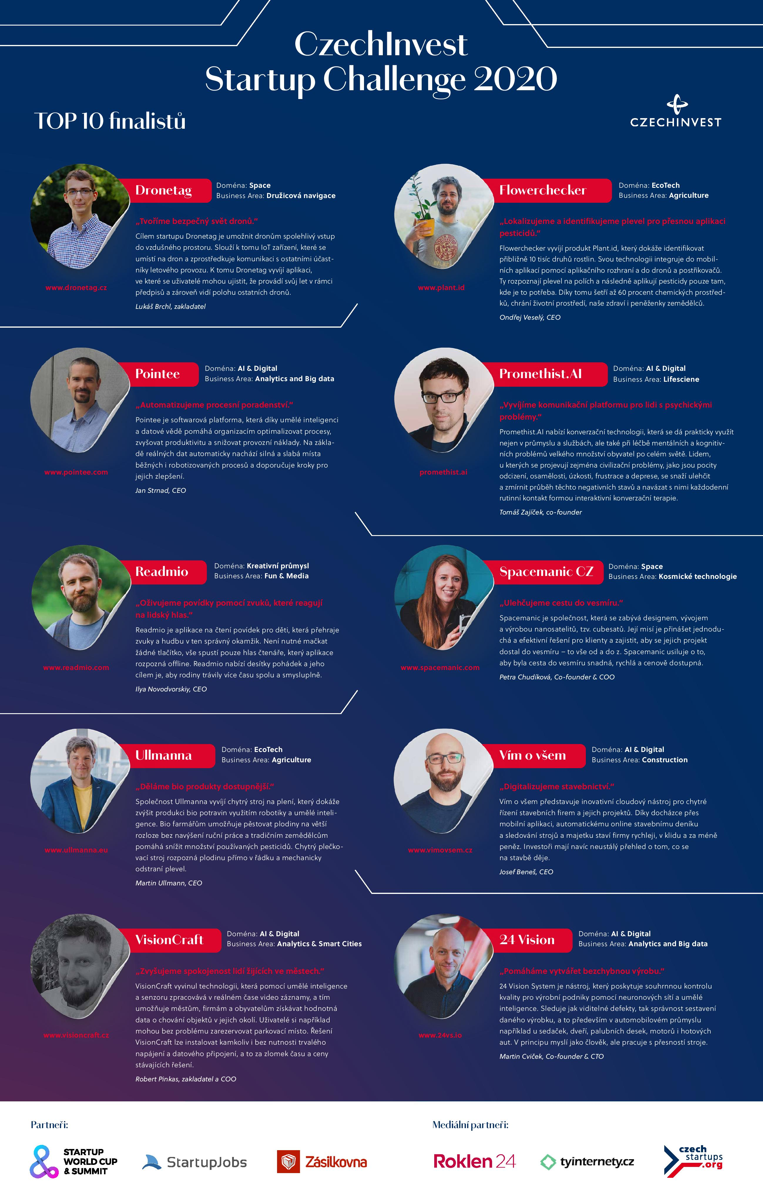 CzechInvest Startup Challenge OnePager page 001